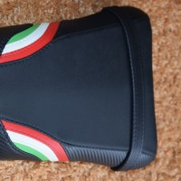 Ducati 749/999 Italian flag colours/with logo Patch Cover D05L