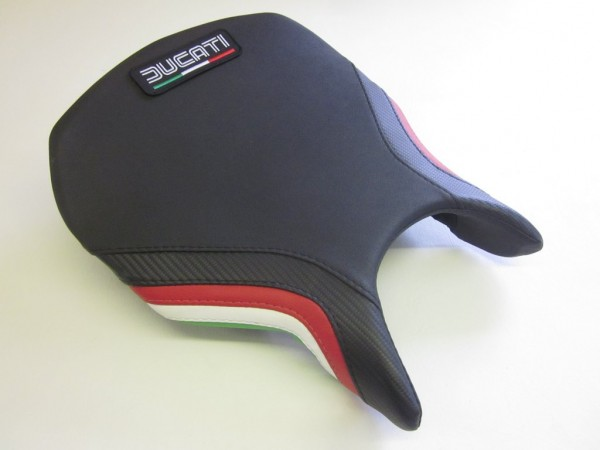 Ducati 749/999 Italian Flag colours-FRONT With Logo Patch