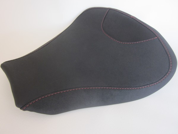 MV Augusta F4 (2010-17) Black/Red top stitch- FRONT