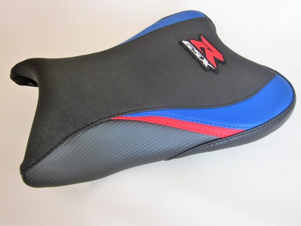 Suzuki GSXR 600/750 (08-10)Blue/Red/Black carbon fibre effect – FRONT