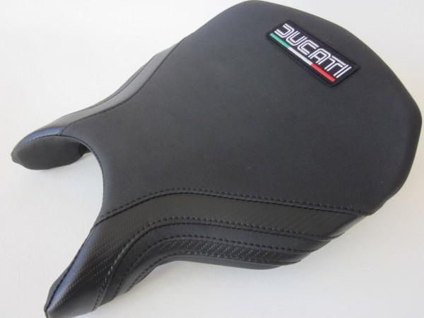 Ducati 749/999 Black/ Carbon fibre effect -FRONT