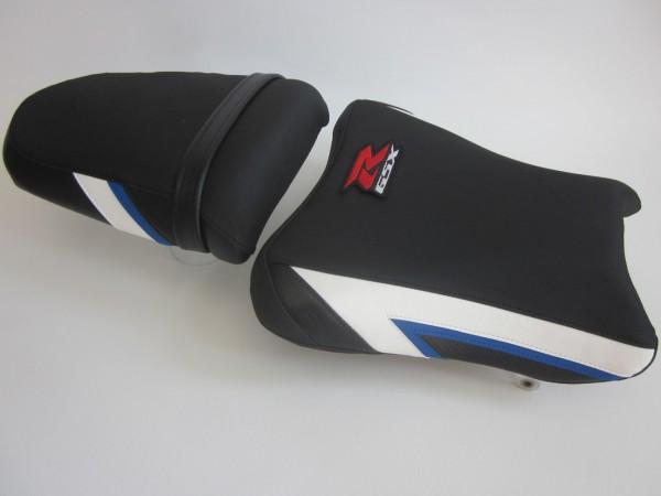 Suzuki GSXR 1000 (K3-K4) Blue/White/Carbon - SET
