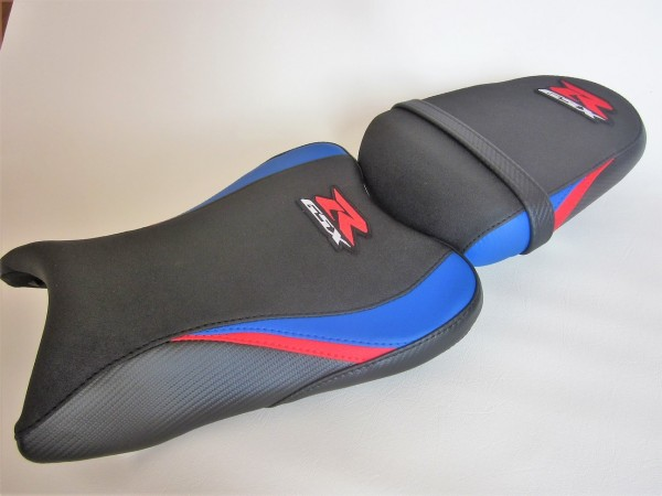Suzuki GSXR 600/750 (08-10)Blue/Red/Black carbon fibre effect -SET