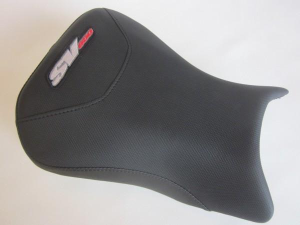 Suzuki SV 650 2003-2012 Seat cover Black Weave- FRONT