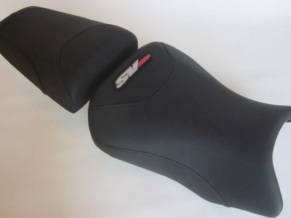 Suzuki SV 650 2003-2012 Seat cover Black Weave- SET