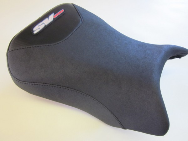 Suzuki SV 650 2003-2012 Seat cover . Black Carbon fibre- FRONT
